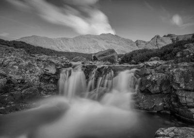Eilean Sionnach Fairy Pools on the Isle of Skye