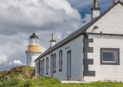 Eilean Sionnach lighthouse keeper's cottage